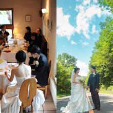 森に佇む一軒家で自由でアットホームな結婚式