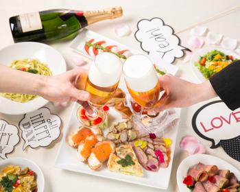 様々なシーンに合わせた料理で大満足(*^-^*)