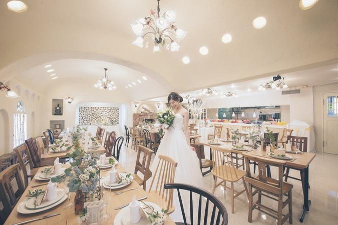 神戸の風を感じる北欧スタイルのレストランW!会費婚にオススメ
