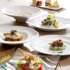 旬の食材を使用したイタリアフルコース