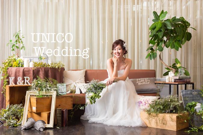 UNICO WEDDING【ウニコウエディング】の画像