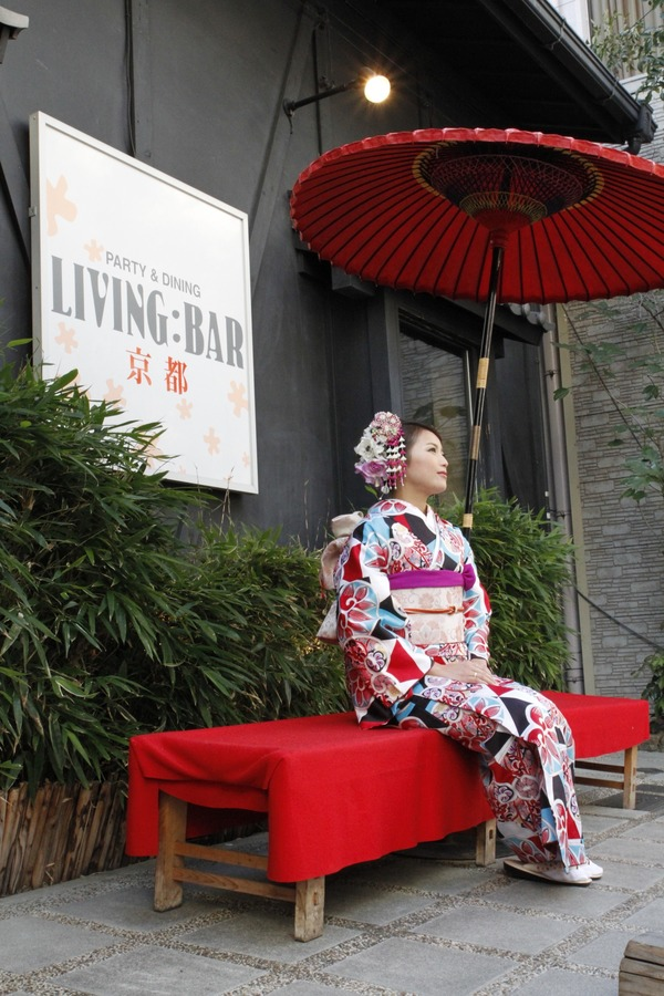 リビングバー 京都 京町家ダイニングの画像
