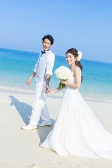 沖縄でのビーチ撮影で思い出もいっぱい!
