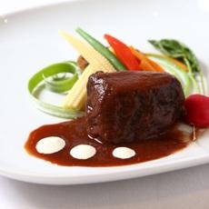 フルコース:肉料理