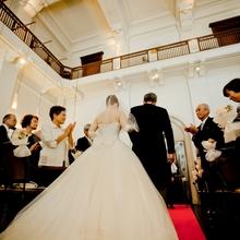 堺筋倶楽部で家族だけの結婚式