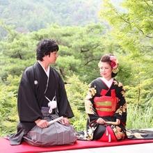 和婚 京都 料亭 食事会 松山閣松山 結婚式