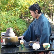 和婚 京都 料亭 食事会 松山閣松山  結婚式 茶婚式