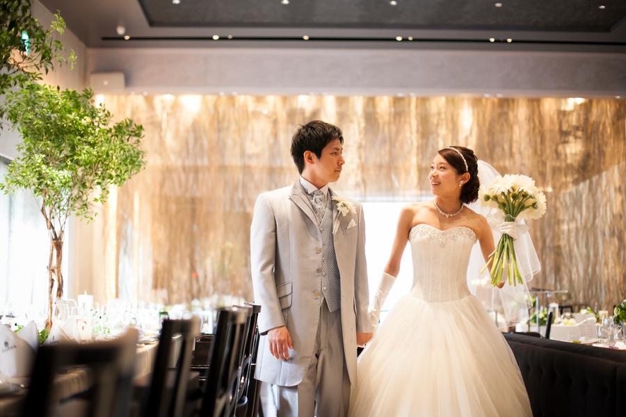一軒家貸切だから、結婚式前に会場でゆったり前撮りもOK