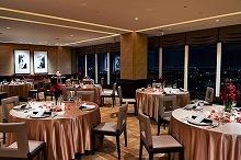 28階の披露宴会場、サロンパノラマ