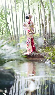京都らしい和装も人気