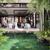 京都らしい竹林の庭