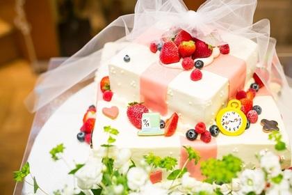 本格的なウエディングケーキも全て手作り!