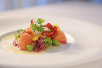 オマール海老と夏野菜のマリアージュ