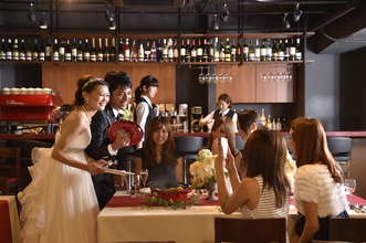 神戸・三宮で少人数お披露目パーティならカフェカルタ