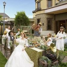 緑に包まれ和やかな家族婚が叶うと大好評。