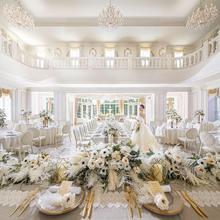 上質なホワイトコーディネイトで洗練花嫁に!