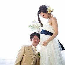 マタニティ フォト パパママ婚