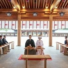橿原神宮【内拝殿】での挙式は養正殿にて受付中です!