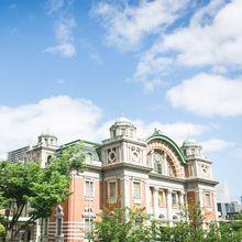 重要文化財・永久保存の大阪を代表する近代建築です