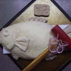 めでたい鯛の塩釜焼