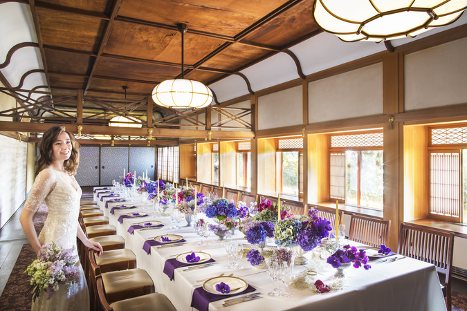 国の有形文化財でもある会場でご親族だけの特別な食事会を♪