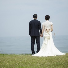 琵琶湖のほとりで想い出の写真をパシャリ☆