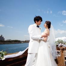 神戸西宮の会場から海が見えるおしゃれなレストランウェディング