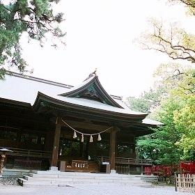 浜松市内では随一の本格神殿挙式会場『浜松八幡宮』