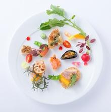 料理長の料理は見た目も美しく、ゲストからも好評!