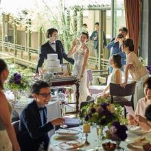 リゾート挙式後のご家族・ご友人お披露目会へ