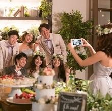 結婚式,食事会1.5次会など、どんなスタイルも!
