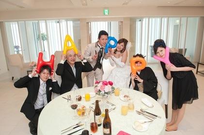 11名でのほっこり食事会〜家族でアットホーム結婚式〜