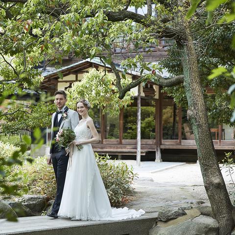 心をときほぐす、穏やかな緑に囲まれた「旧小菅邸」
