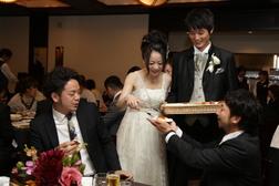 和気あいあい温かい結婚式