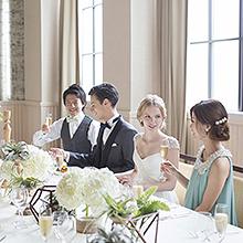 人気の会場でゆったりとお食事をお楽しみ頂けます!