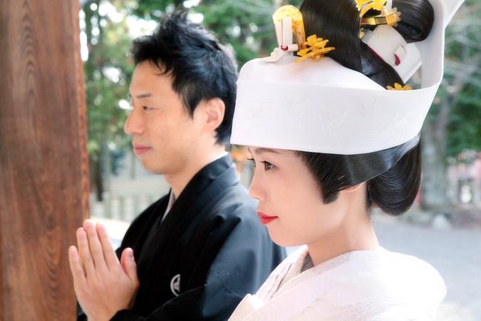 1300年の歴史ある由緒正しい成海神社 結婚式