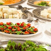 ビュッフェ料理も季節に合わせてメニューが変わります。