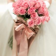 ピンクのバラ 花言葉は「感謝」