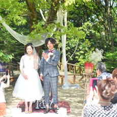 森の結婚式♪