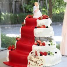 バージンロードケーキ