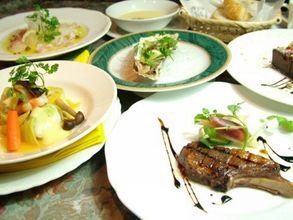 国産お肉料理のフルコース