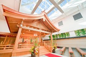ホテルモントレ仙台 結婚式 神殿