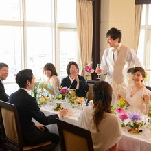 仙台市内を一望♪スカイレストランで叶うお食事会ウェディング