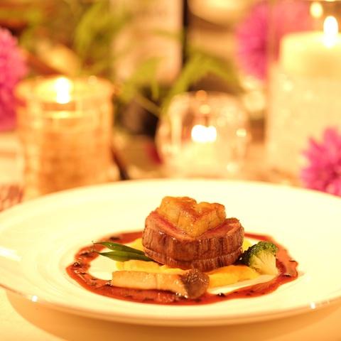 お料理の見た目、味を重視したいおふたりにおすすめの試食付きフェアを開催中!