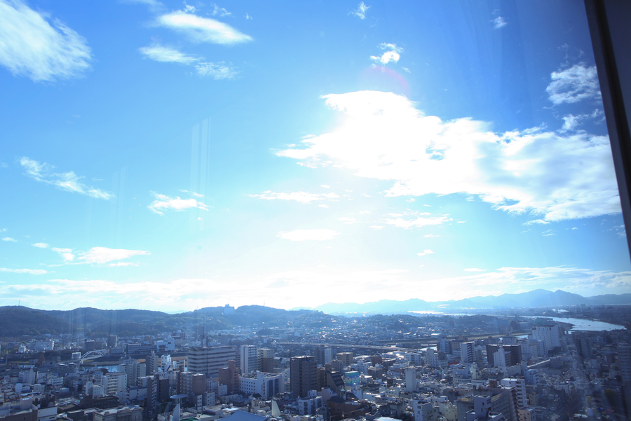 地上101mから望む天空の景色を。