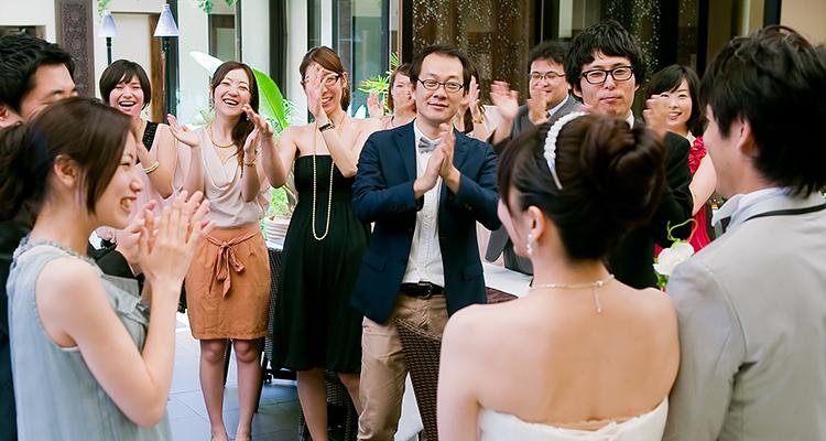 30名規模の家族・親族・友人のみの結婚式の費用相場は?披露宴